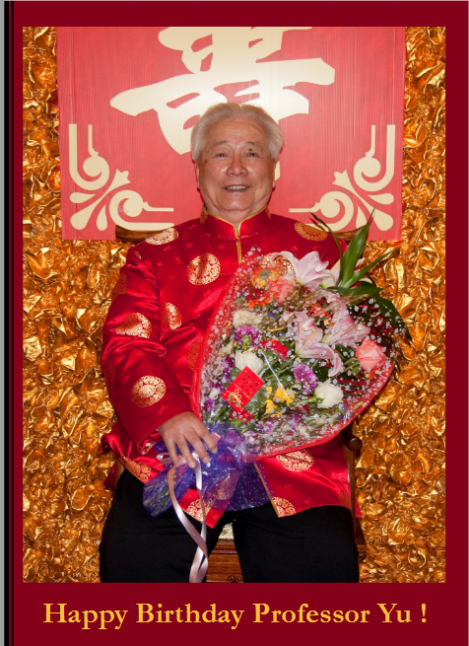 Photo Book: Happy Birthday Prof. Yu, März 2009