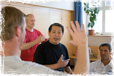 Master Lam at a Workshop in Germany